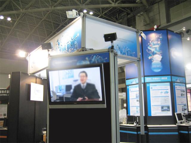 マイクロマシン展2009 / 小間(12M×6M)
