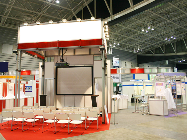 Embedded Technology 2009<br />パシフィコ横浜 / 小間(12M×12M)