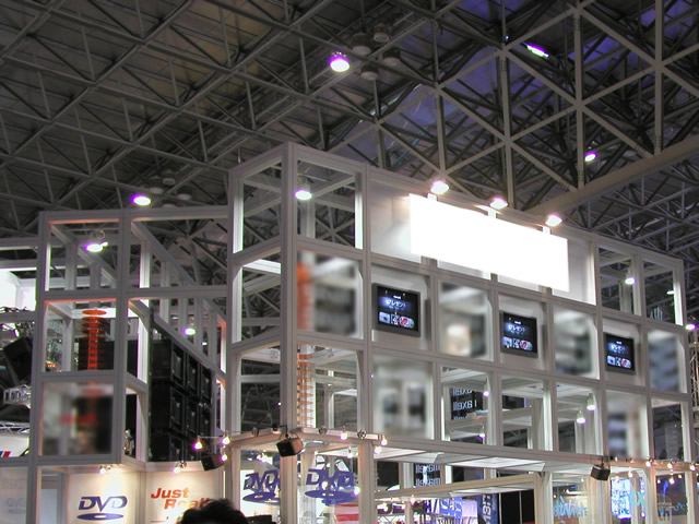 World PC Expo 2001 / 小間