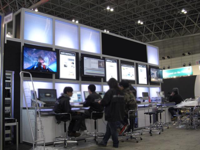 Inter BEE 2009 幕張メッセ / 小間(9M×3M)