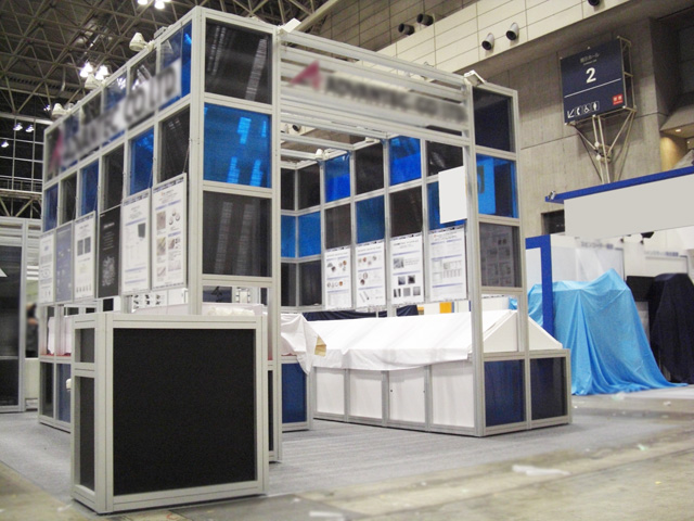 SEMICON JAPAN 2009 幕張メッセ / 小間(9M×6M)