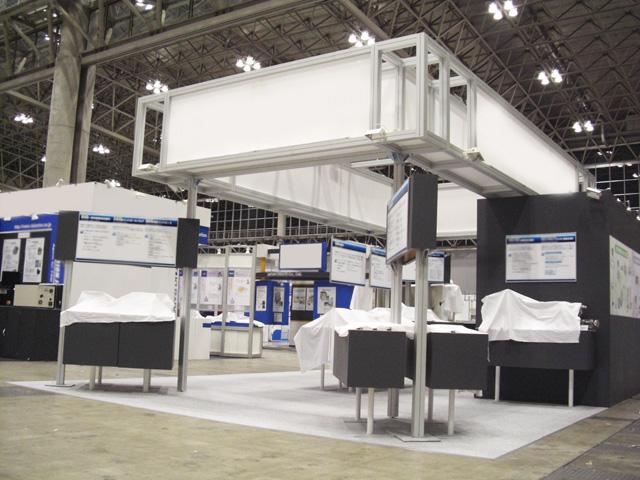 SEMICON JAPAN 2009<br />幕張メッセ / 小間(9M×6M)
