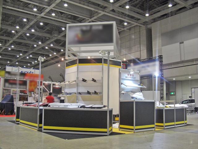 国際オートアフターマーケット 2010 東京ビッグサイト / 小間(6M×6M)