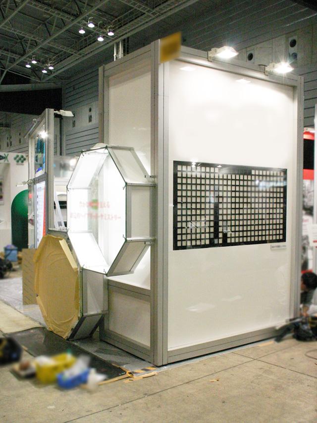 人とくるまのテクノロジー展 2010 パシフィコ横浜 / 小間(12M×6M)