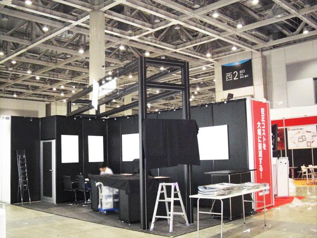 ブックフェア 2010 東京ビッグサイト / 小間(6.6M×3M)