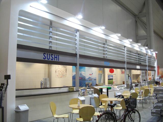三井食品フードショー 2010 東京ビッグサイト / 小間(20M×5M)