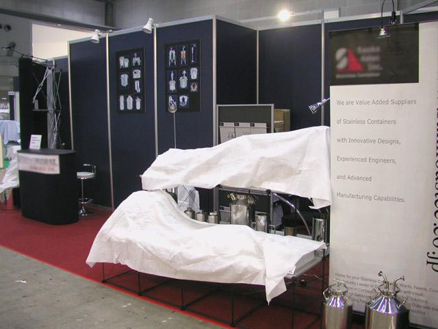 インターフェックス 2008 / 3小間(3Mx9M) Booth