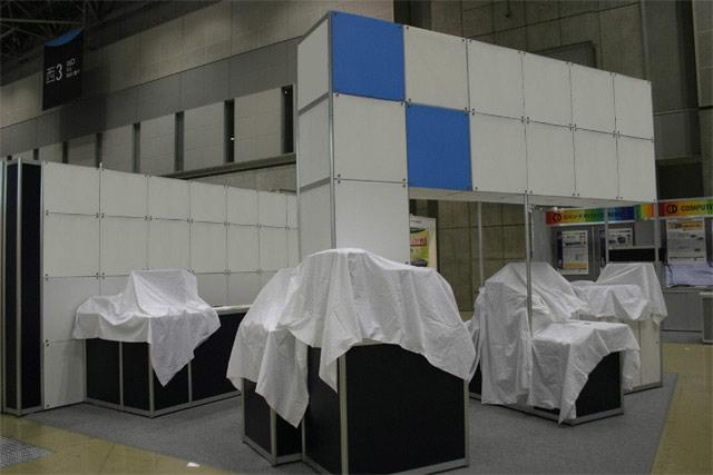 組込みシステム開発技術展(ESEC)/小間(5.4M×6M)