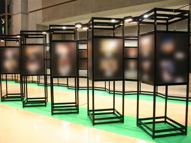 展示会2009/事務局工事