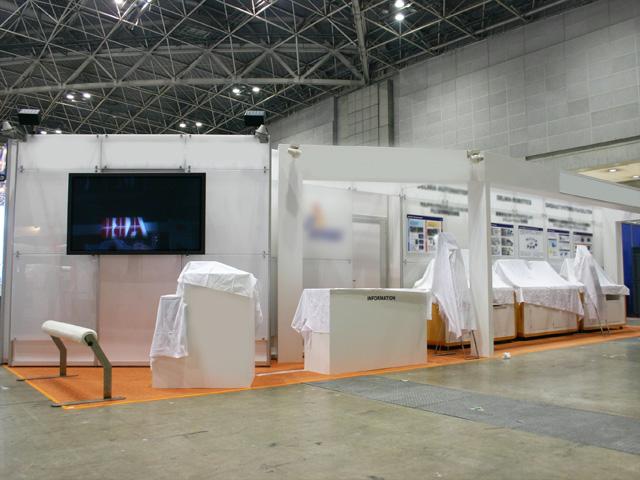 2009 国際ロボット展<br />東京ビッグサイト東ホール / 小間(12M×3M)