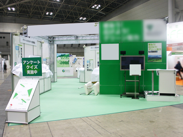 エコプロダクツ2009 東京ビッグサイト東 / 小間(12M×6M)