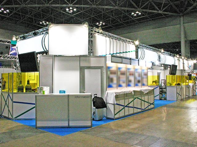 国際ウエルディングショー 2010 東京ビッグサイト / 小間(21M×6M)