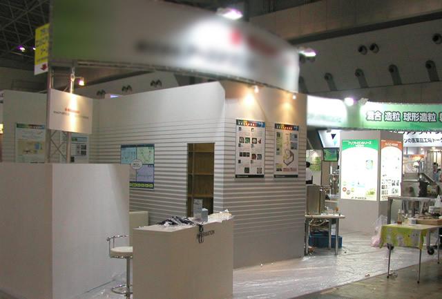 インターフェックス 2008 / 10小間(6Mx15M)