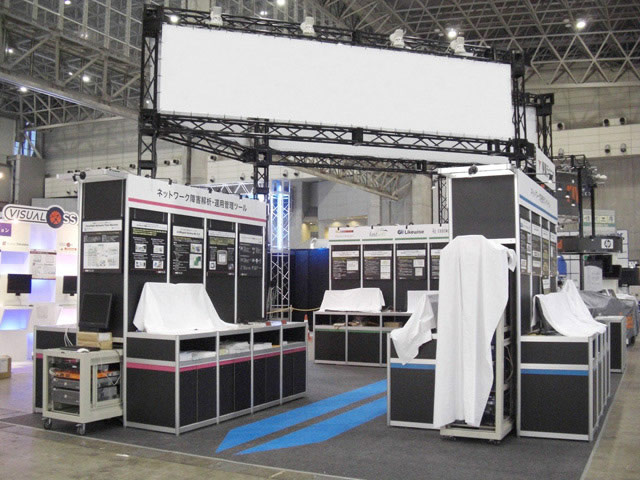Interop Tokyo 2009 / 小間(9M×6M)