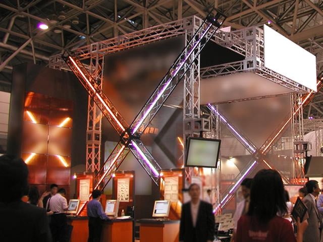 World PC Expo 2001 / 小間
