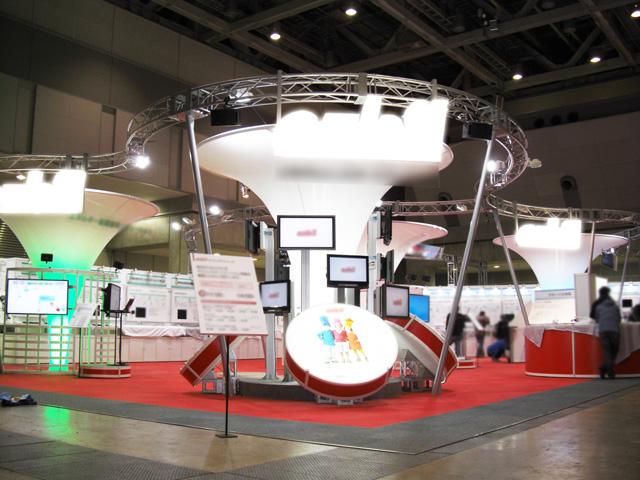計測展 2009<br />東京ビッグサイト西 / 小間(24M×15M)