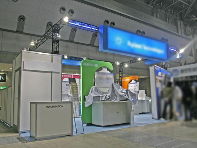 第10回光通信技術展 2010 東京ビッグサイト / 小間(9M×5.4M)