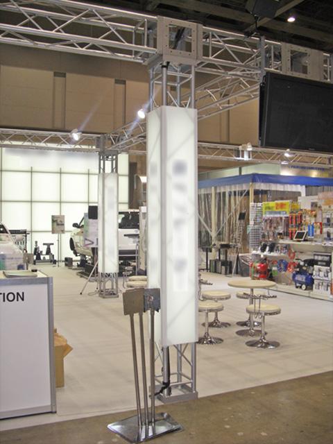 国際オートアフターマーケット 2010<br />東京ビッグサイト / 小間(15M×13.6M)