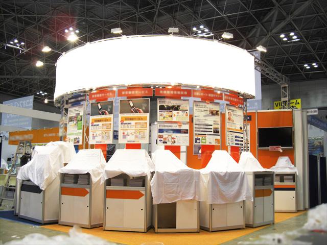 オフィスセキュリティEXPO(OSEC)2010<br />東京ビッグサイト / 小間(5.4M×6M)