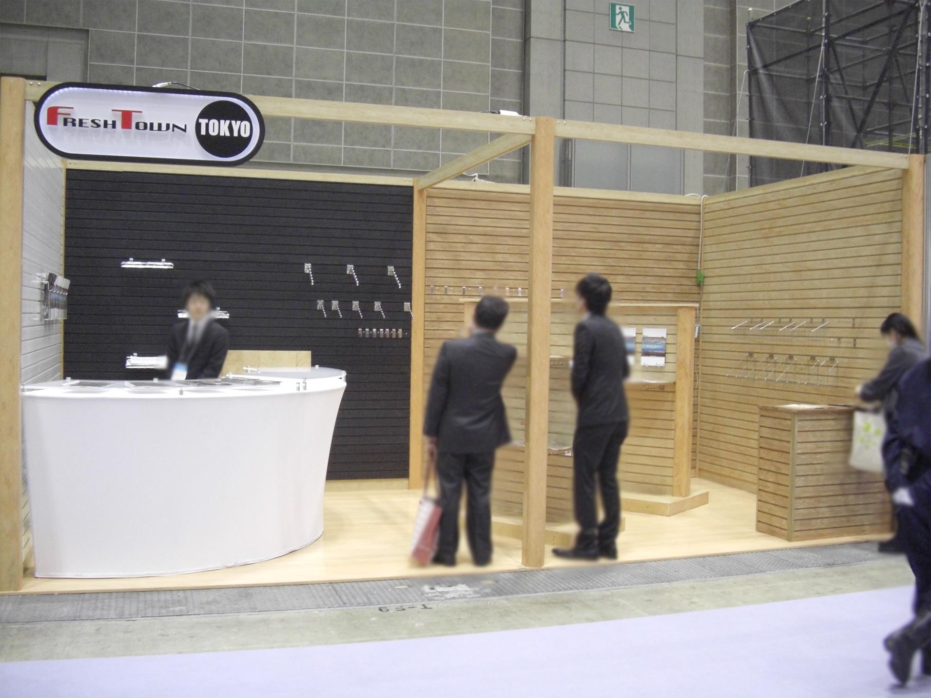 第3回国際イベント総合展 2011 東京ビッグサイト / 自社ブース(6Mx3M)
