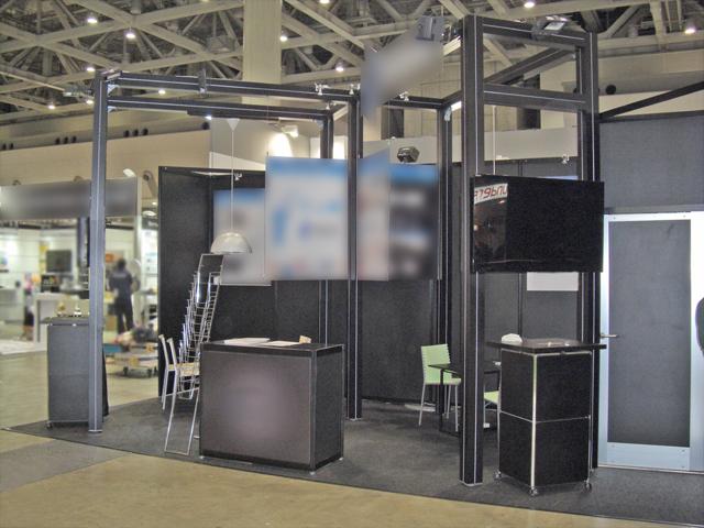 第15回国際電子出版EXPO 東京ビッグサイト / 小間(6.6Mx3M)
