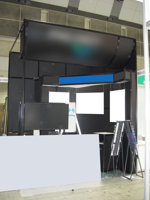 第2回クラウドコンピューティングEXPO春 東京ビッグサイト / 小間(3Mx3M)