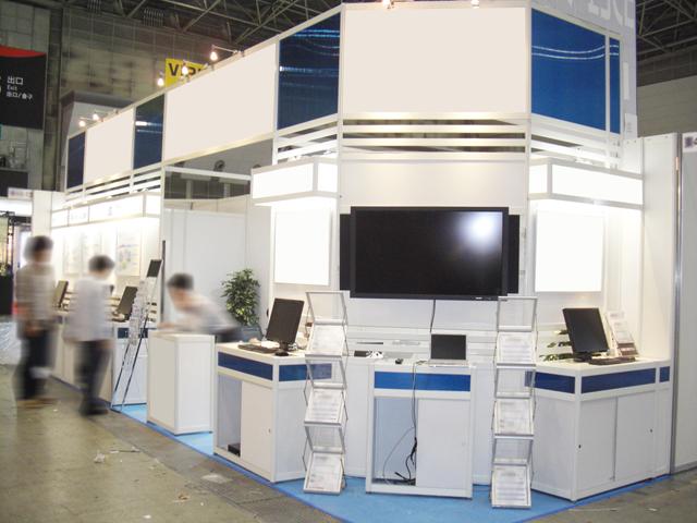 第2回クラウドコンピューティングEXPO春<br />東京ビッグサイト / 小間(9Mx3M)