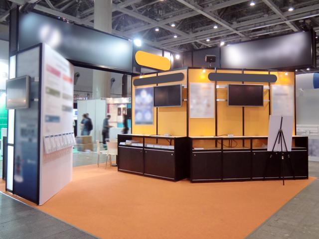 第14回組込みシステム開発技術展 東京ビッグサイト / 小間(6Mx6M)