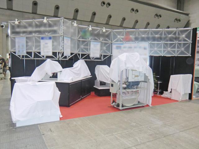 下水道展2011<br />東京ビッグサイト / 小間(6Mx3M)