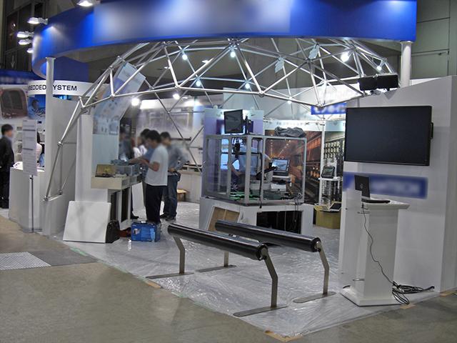 第15回組込みシステム開発技術展 東京ビッグサイト / 小間(12M×5.4M)