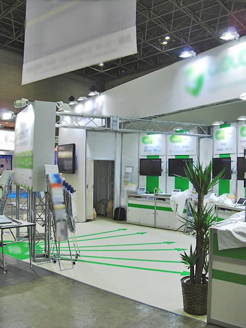 第2回クラウドコンピューティングEXPO春 東京ビッグサイト / 小間(9.4M×5.2M)