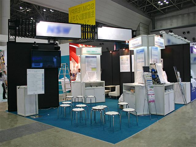 第23回設計・製造ソリューション展 東京ビッグサイト / 小間(5.4M×6M)