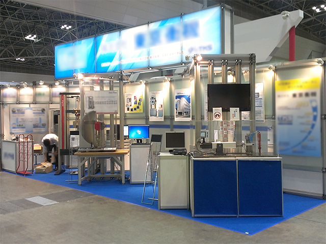 JAPAN TESTING TECHNOLOGY SHOW<br />東京ビッグサイト / 小間(9M×3M)