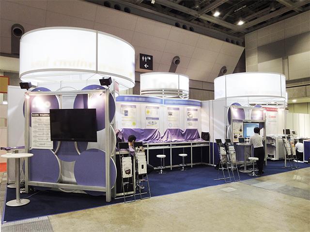 国際電子出版EXPO 2014 東京ビッグサイト / 小間(13.8Mx2.9M)