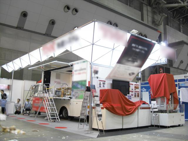 オフィスセキュリティEXPO(OSEC) 2010 東京ビッグサイト / 小間(12M×5.4M)