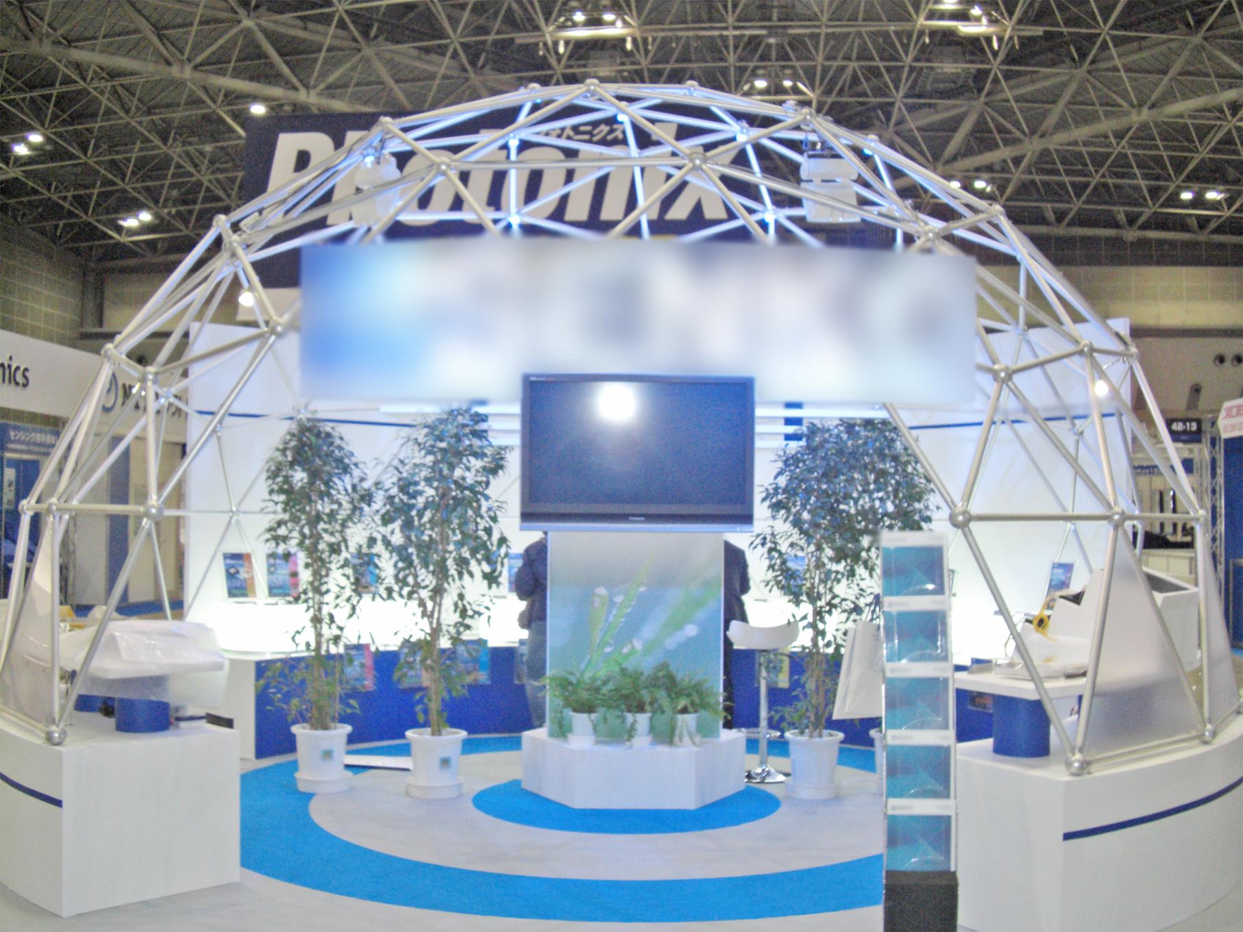 第11回光通信技術展 FOE 2011 東京ビッグサイト / 小間(6Mx6M)