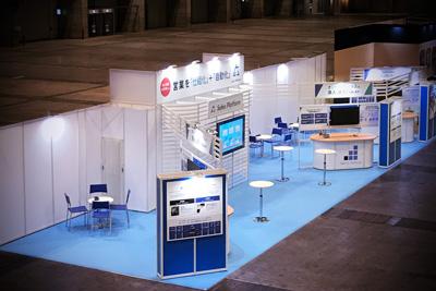 株式会社アイドマ・ホールディングス_営業支援EXPO2021展示会・イベントブース装飾のこだわり