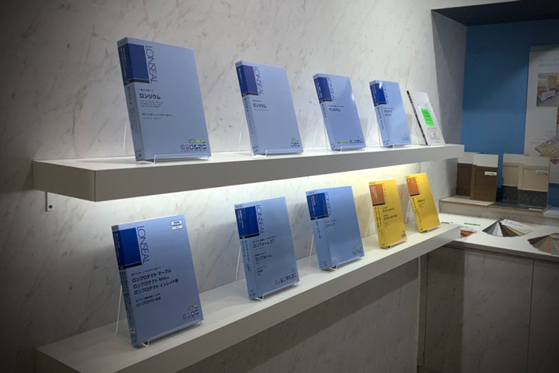 ロンシール工業株式会社展示会・イベントブース装飾画像
