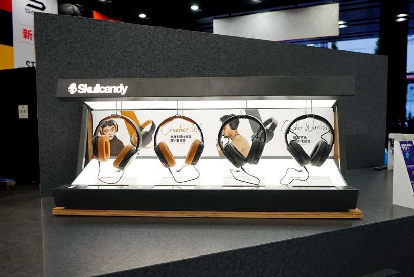 Skullcandy展示会・イベントブース装飾画像