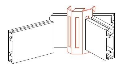 システム部材オクタノルム(Octanorm)のパーツUサス